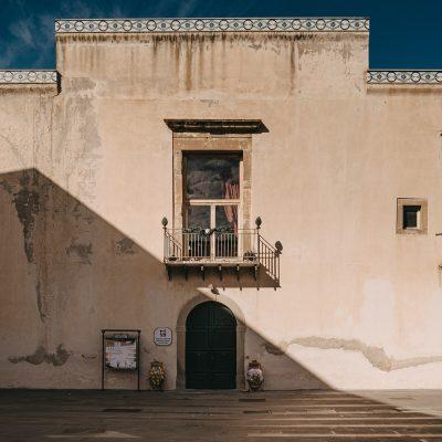 Facciata principale di Palazzo Trabia