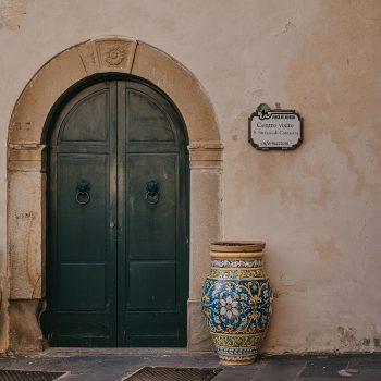 Palazzo Trabia - Portone di ingresso